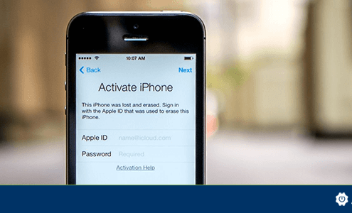 iPhone with activation lock