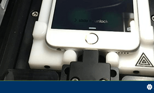 Apple's calibration machine for repair