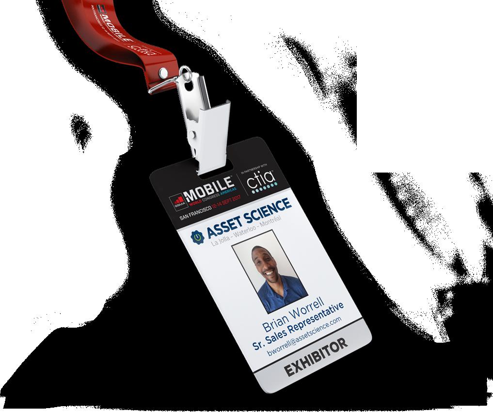 MWCA17 ID badge