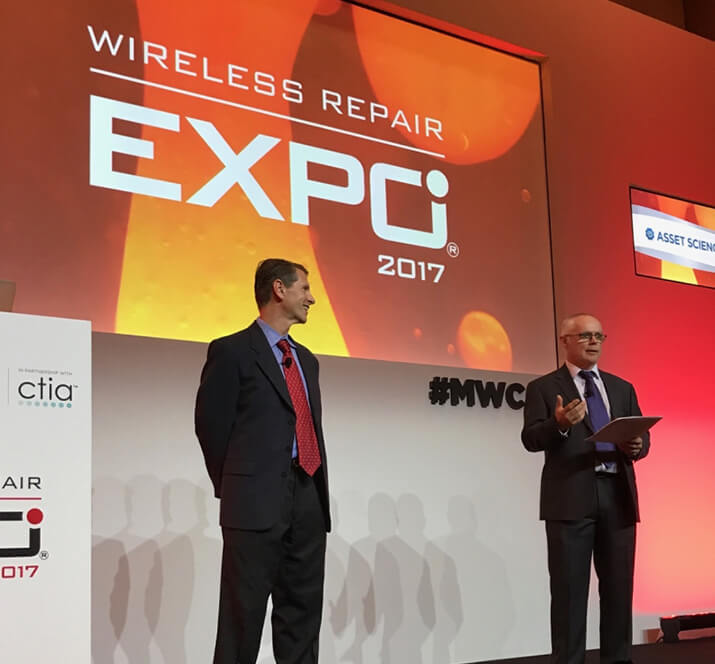 Asset Science CEO John Sheeran and Don Riley, Director of Sales & Operations, spoke to a rapt audience about how we can boost customer satisfaction in the wireless industry.
